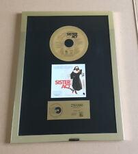 Sister Act Gold Award ( goldene Schallplatte ) Whoopi Goldberg 1993