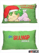 Dr Slump e Arale Sleeping Cushion - Cuscino Gatchan 50x30x6 SD Toys New Nuovo