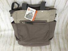 Ergobaby The Coffee Run Hybrid Diaper Bag Nwt Grey