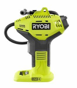 RYOBI 18V ONE+ Lithium-Ion Cordless High Pressure Inflator with Digital Gauge