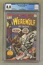 WEREWOLF BY NIGHT #32 Marvel Comics 1975 CGC 8.0 Moon Knight 1st Appearance