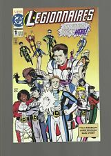 Legionnaires #1  (1992, DC) Mint 9.6 w/Card, Signed with Certificate