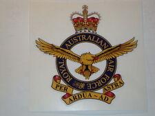 "2 X  ROYAL  AUSTRALIAN AIR FORCE  4"" BRITISH ARMY USA  MILITARY INSIGNIA"