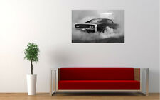 DODGE CHARGER BURNOUT NEW GIANT LARGE ART PRINT POSTER PICTURE WALL