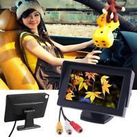 "Car Rear View System Backup Reverse Night Vision 4.3"" TFT LCD Monitor ##"