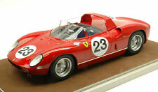 Ferrari 250 P #23 Accident Le Mans 1963 J. Surtees / W. Mairesse 1:18 Model