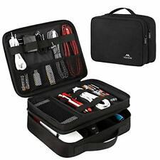 Matein Electronics Travel Organizer, Waterproof Medium, 1 - Antique Black