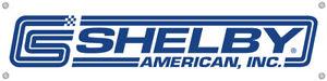 "Shelby American Classic Logo Vinyl Banner 48"" x 12"" * Cobra * FREE US SHIPPING!"