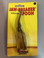 jaw-breaker spoon Weedless 1/2oz Gold Shiner Northland Tackle