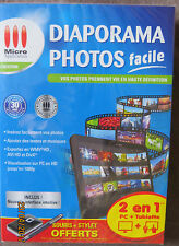 Diaporama photos son HD 1080p Facile Logiciel Micro Application PC et Tablette