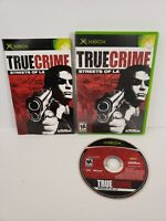 True Crime: Streets of LA (Microsoft Xbox, 2003) Complete with Manual Tested