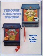 Through a Country Window by Marie Cole Tole Painting Book