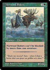 Mtg 4x norwood Riders-portal 2 * Elves *