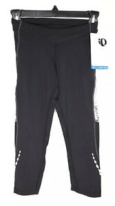 Pearl Izumi Pants Size XS for Womens Select Black Aurora Splice 3 Quarter Tight