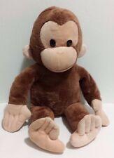 "Applause Curious George Plush Monkey Stuffed Animal Toy 16"" EUC"