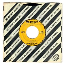 Andre Williams 1956 Epic 45rpm Bacon Fat b/w Just Because Of A Kiss  Doo~Wop