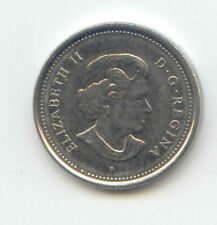 Canada 2003 P Canadian Nickel 5c Five Cent Piece 5 Cents New Effigy EXACT COIN ~