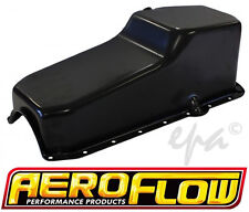 AEROFLOW SMALL BLOCK 283 307 327 350 CHEV REPLACEMENT OIL PAN SUMP AF82-9092BLK