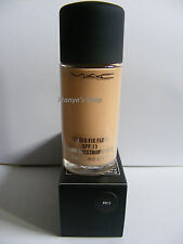 Mac Foundation Studio Fix Fluid Foundation NW15 SPF 15 Brand New