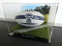 ✺Signed✺ JOEL SELWOOD Geelong Cats Football PROOF COA 2020 Jumper AFL