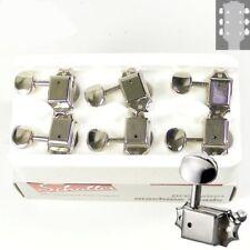 Schaller Original F-Series ST6B tuners/machine heads 3x3 Nickel, 10160123
