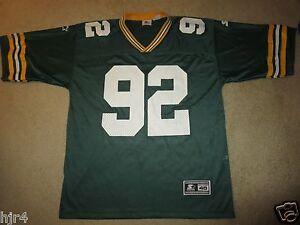 Reggie White 1994 Green Bay Packers NFL Super Bowl Jersey 48 XL