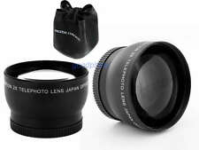 72mm 2X Telephoto Lens for Canon 5D Mark II 7D 60D 550D 600D 1100D 1200D Camera