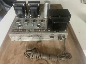 vintage tube amplifier The Fisher