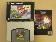 Nintendo 64 Video Game * SUPER MARIO 64 * Complete N64 Retro Rare 21571