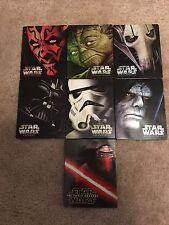 Star Wars Episodes I- VII Steelbook set Nearly New