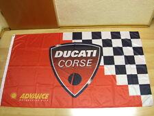 Fahnen Flagge DUCATI CORSE - 90 x 150 cm