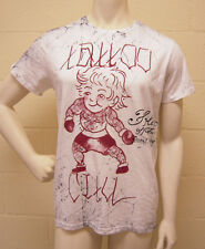 Ed Hardy Tattoo City White T-Shirt (L) NWT