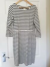 Inware Stripe Cotton Jersey Dress, Size M
