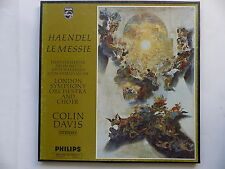 Coffret HAENDEL Le messie London symhony orchestra and choir COLIN DAVIS 802721/