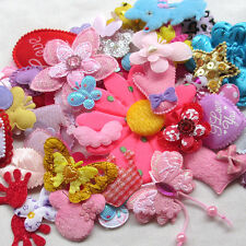 Felt Padded cute appliques/sewing/baby craft lots mix-50 A655