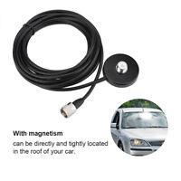 Mobile Car Antenna Magnetic Roof Mount Base Antenna with 5M Coax Cable UHF Male