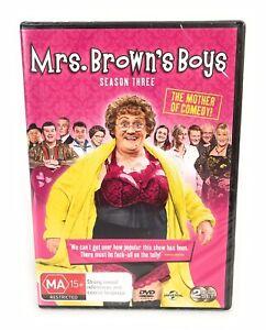 Mrs Browns Boys Series 3 Season Three New & Sealed DVD Region 4 Free Postage
