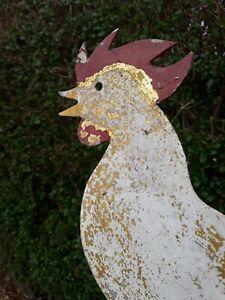 Antique cockerel/weather vane/garden Ornament