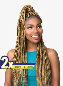 Sensationnel African Collection 2X RUWA PRE-STRETCHED BRAID 30″