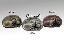 Terrier Dog Urn, Pet Urn, Color Bronze - Free Shipping