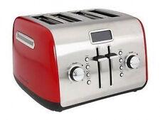 KitchenAid RR-KMT422ER 4-Slice Digital Toaster W/LCD Display Empire Red Steel