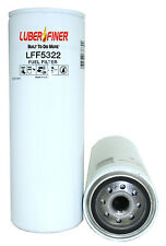 2 NEW Luber-Finer LFF5322 Fuel Filters Replaces Wix 33527 FREE Shipping