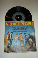 "VILLAGE PEOPLE-SLEAZY - 1979 uk 7"" vinyle single"