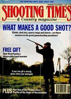 Shooting Times & Country Magazine - November 25 - December 1 1993