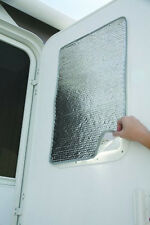 Camco RV Sun Block Shield Reflective Door Window Cover Trailer Camper Motorhome