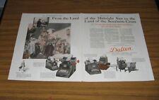 1924 Vintage Ad Dalton Adding,Bookeeping,Cash Register Machines Cincinnati,OH