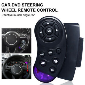 Universal Wireless Steering Wheel Button Remote Control Stereo For CD VCD DVD
