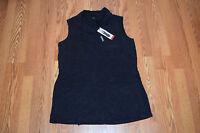NWT Womens BUFFALO Black Light Weight Vest Size S Small