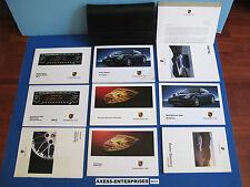 2003 Porsche 911 Carrera C2 C4 C4S Owner Manuals Operators Books Package # M172