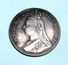 1887 Victoria D:G: BRITT:REG:FD:  Great Britain UK Coin Nice Money Collectible